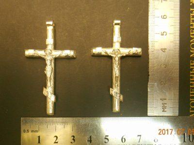 Крестик Золото Урала